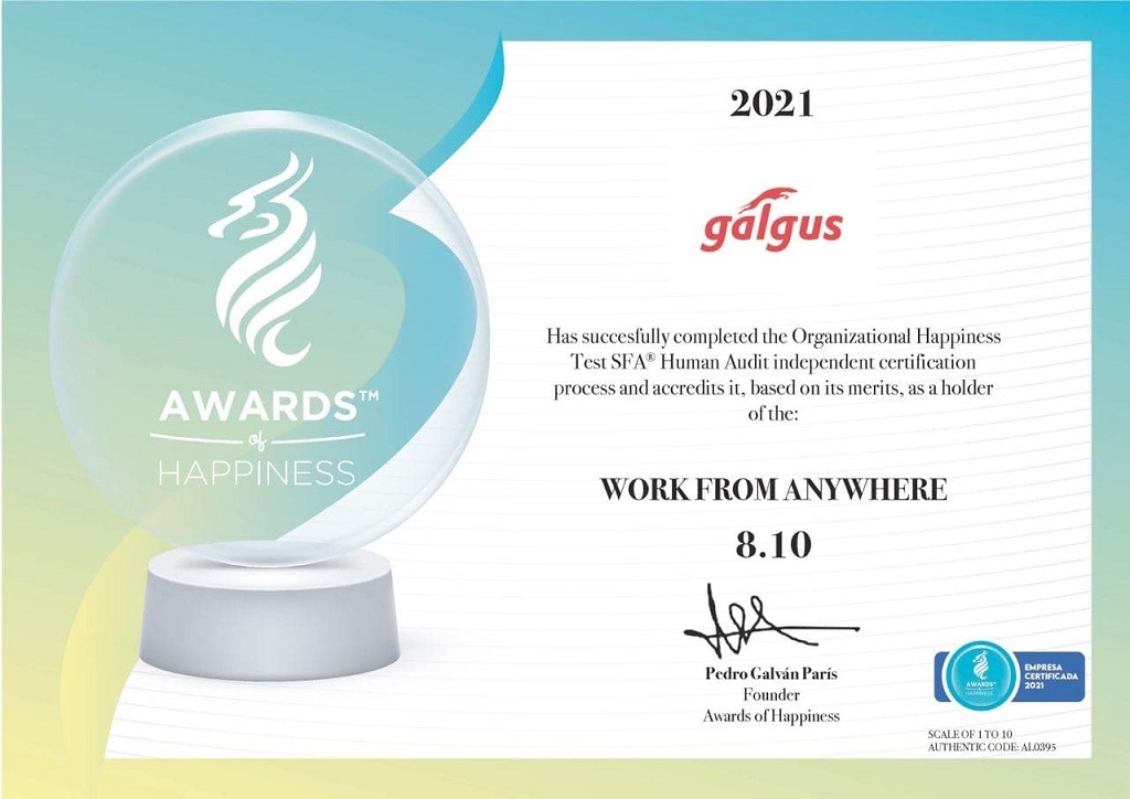 GALGUS - Awards of Happiness
